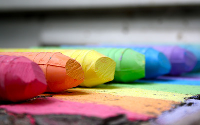 Crayons wallpaper