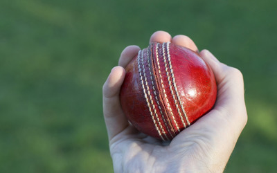 Cricket ball wallpaper