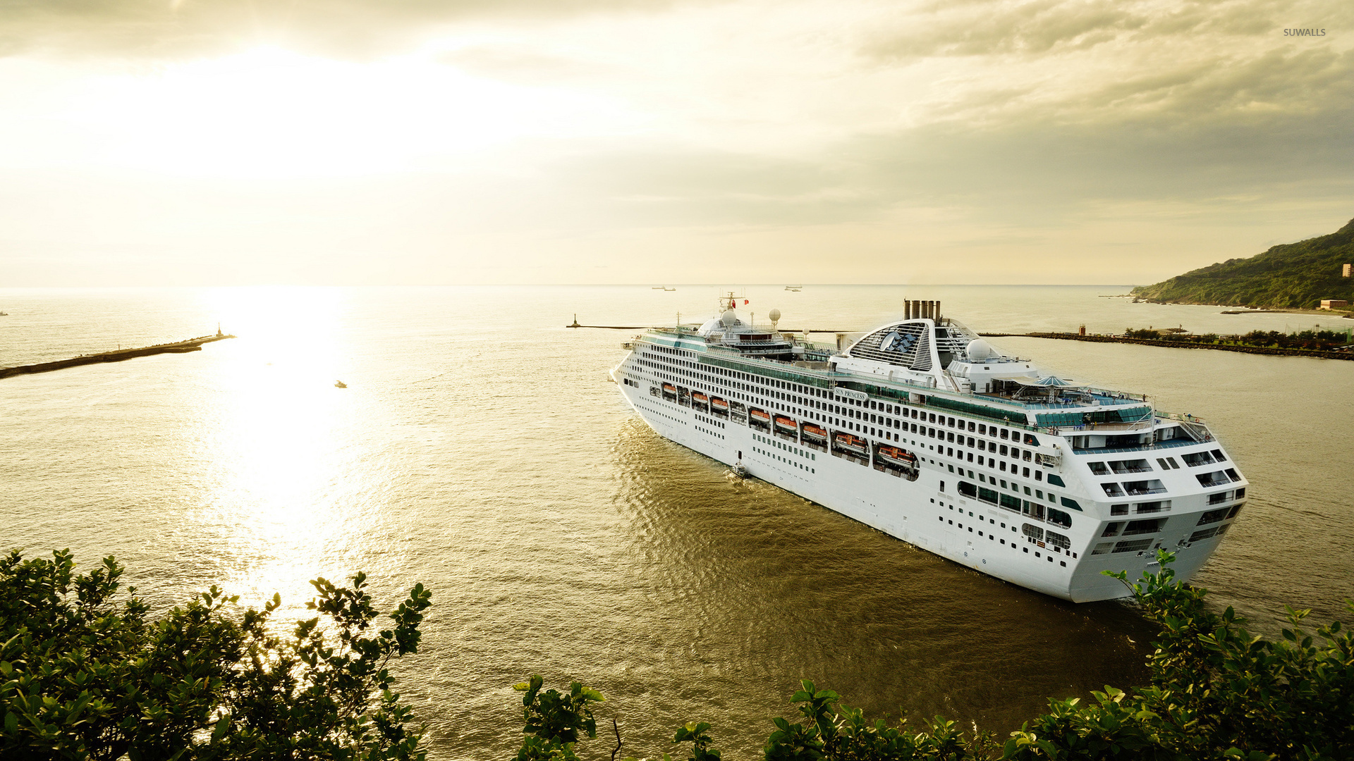 Cruise Ship 5 Wallpaper Photography Wallpapers 45328