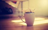 Cup of tea wallpaper 2560x1600 jpg