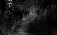 Dark stairs wallpaper 1920x1200 jpg