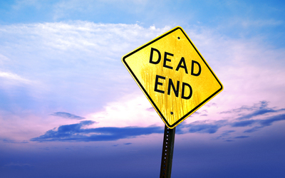 Dead end sign Wallpaper