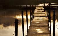 Dock on the lake wallpaper 1920x1080 jpg