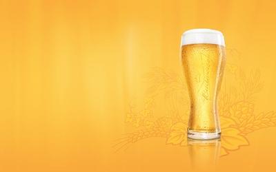 Draught beer wallpaper