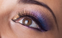 Eye make-up close-up wallpaper 3840x2160 jpg
