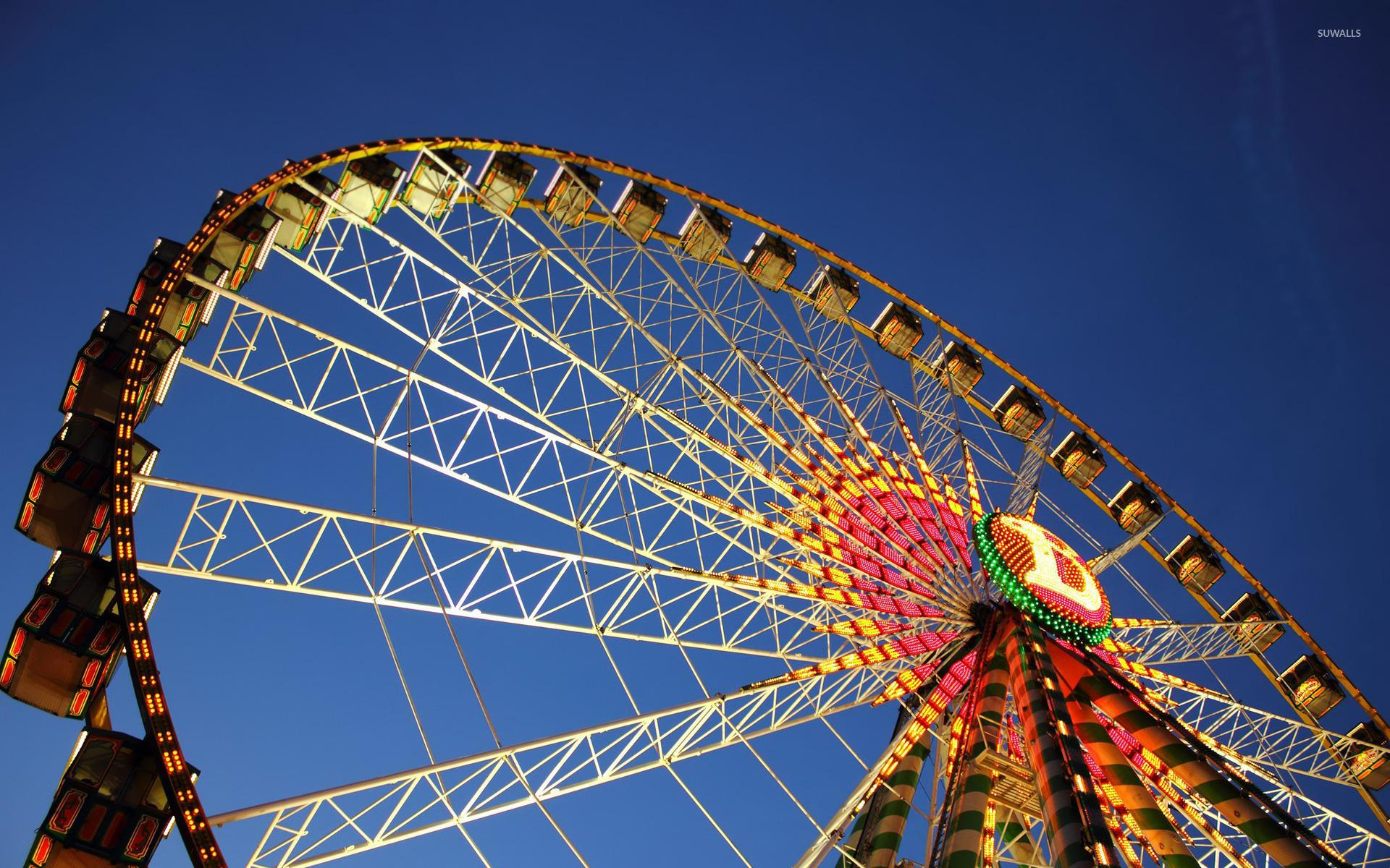 Ferris Wheel Wallpaper Photography Wallpapers 17703 Fence ferris wheel 4k hd photography
