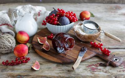 Fig marmalade wallpaper