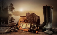 Fishing equipment wallpaper 2560x1600 jpg