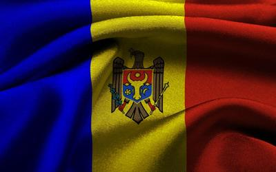 Flag of Moldova Wallpaper