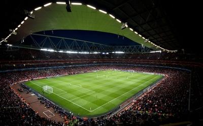 Football stadium wallpaper