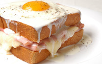 Fried egg sandwich wallpaper 1920x1200 jpg