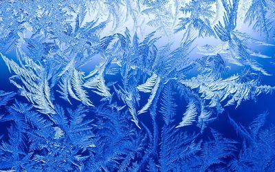 Frozen window wallpaper