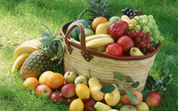Fruit basket wallpaper 2560x1600 jpg