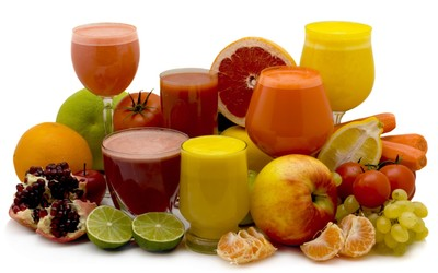 Fruit juice wallpaper