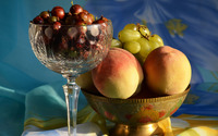 Fruits in bowls wallpaper 3840x2160 jpg