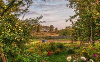 Garden wallpaper 1920x1200 jpg