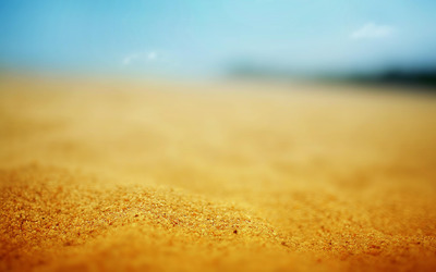 Golden sand wallpaper