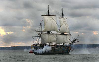 Gotheborg ship wallpaper