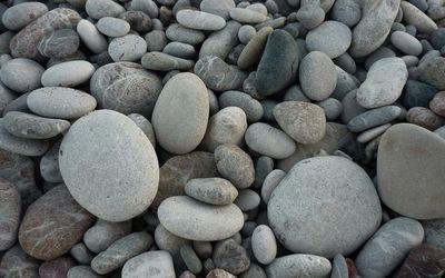 Gray pebbles wallpaper