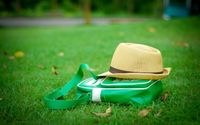 Hat on a bag wallpaper 1920x1200 jpg