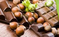 Hazelnuts and Chocolate wallpaper 2560x1600 jpg