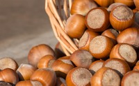 Hazelnuts in the sunlight wallpaper 3840x2160 jpg