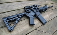 Heckler & Koch assault rifle wallpaper 1920x1200 jpg