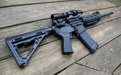 Heckler & Koch assault rifle wallpaper