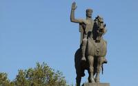 Horseman statue wallpaper 2560x1600 jpg