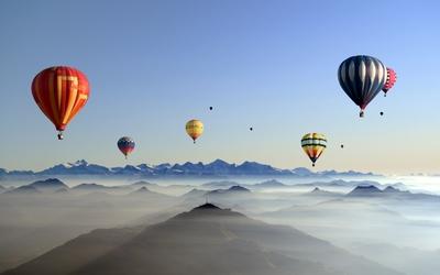 Hot air balloon [2] wallpaper