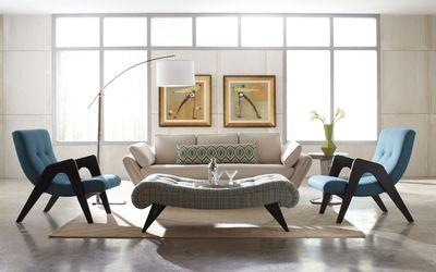 Interesting living room design Wallpaper