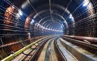 Into the railway tunnel wallpaper 2560x1440 jpg