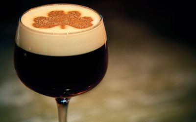 Irish coffee wallpaper
