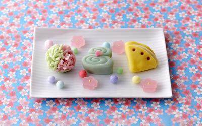 Jelly dessert wallpaper