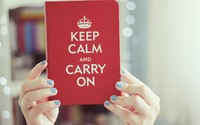 Keep Calm and Carry On [2] wallpaper 1920x1200 jpg