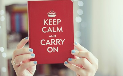 Keep Calm and Carry On [2] wallpaper
