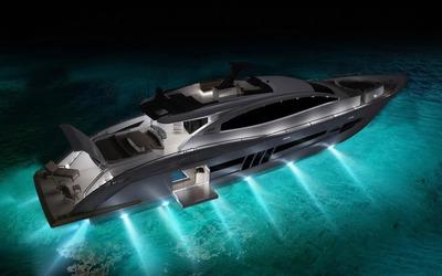 Lazzara LSX 92 yacht wallpaper