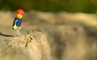 Lego man on the edge wallpaper 1920x1200 jpg