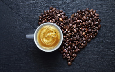 Love for coffee [2] wallpaper
