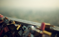 Love locks wallpaper 2560x1440 jpg