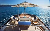Luxurious yacht deck wallpaper 1920x1200 jpg