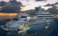 Luxury yacht wallpaper 1920x1080 jpg