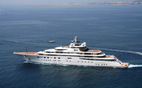 Luxury yacht [2] wallpaper 1920x1200 jpg