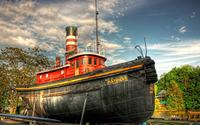 Mathilda steam ship wallpaper 3840x2160 jpg