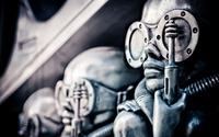 Metallic sculpture wallpaper 2880x1800 jpg