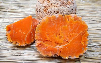 Mimolette cheese wallpaper