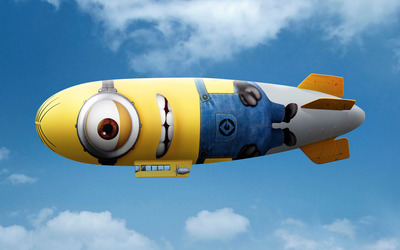 Minion blimp wallpaper