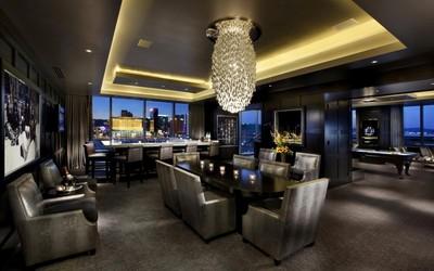 Modern party lounge wallpaper