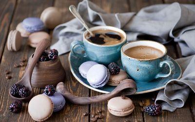 Morning coffee wallpaper