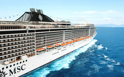 MSC Divina Wallpaper